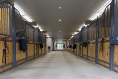 new barn aisle